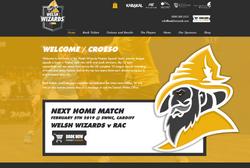 website design and ticket sales
