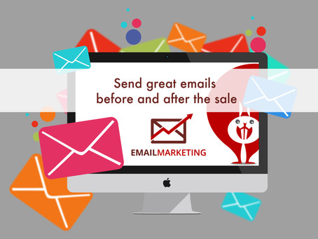 Send Great Emails Before and After the Sale