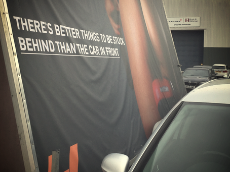 Cracking advert? Or just too cheeky?
