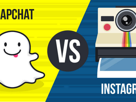 Snapchat/Instagram - What's the difference in 2017?