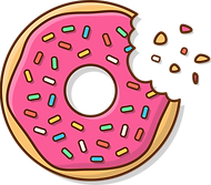 Tasty_Donut_With_A_Mouth_Bite_Vector_Ico