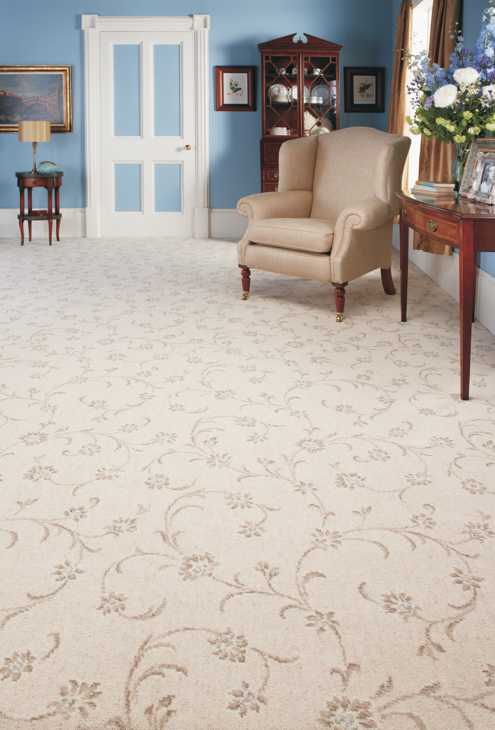 Wool Patterned Carpet
