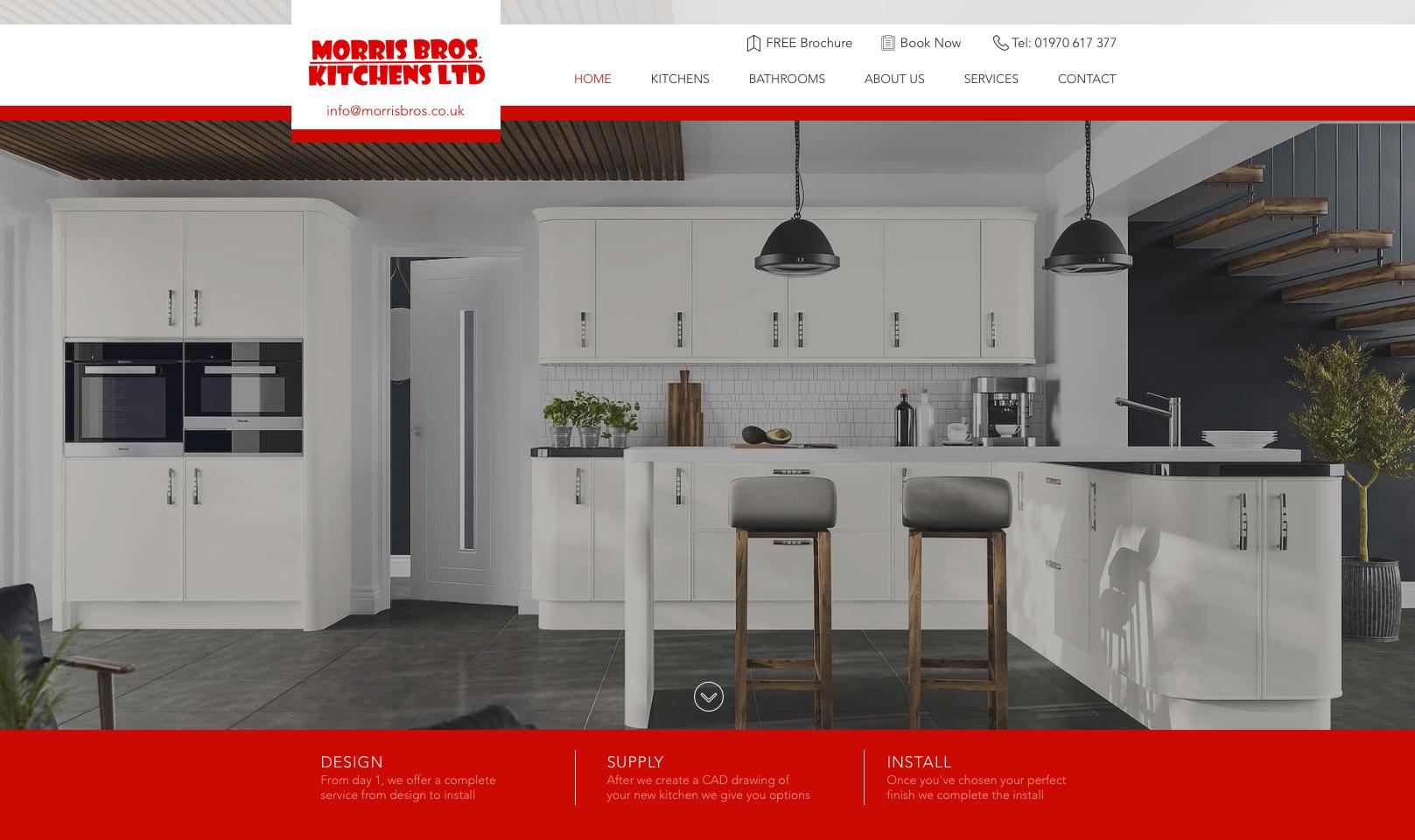 New website design in Aberystwyth