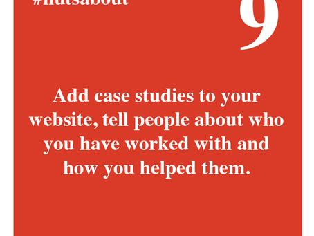 Adding case studies to your website