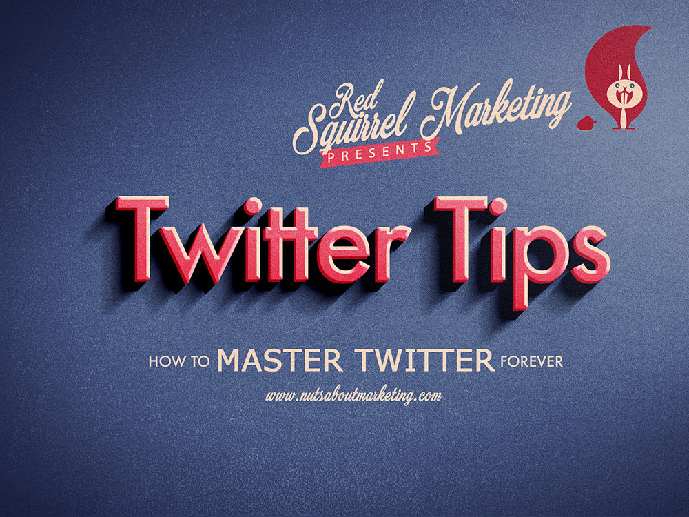 Red Squirrel Twitter Tips