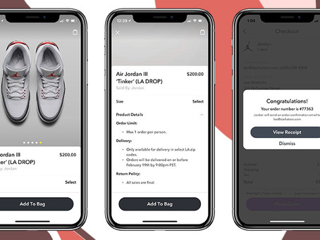 Nike sells out on Snapchat