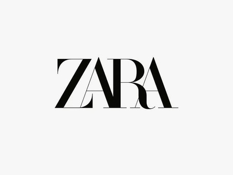The new Zara logo