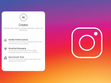 Instagram Creator Account: What's the deal