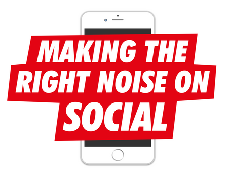 Making the right noise on social