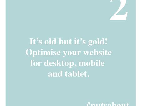 Optimise your website already