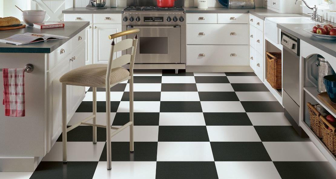 Tile Vinyl Floor