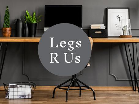 New website for Legs R Us