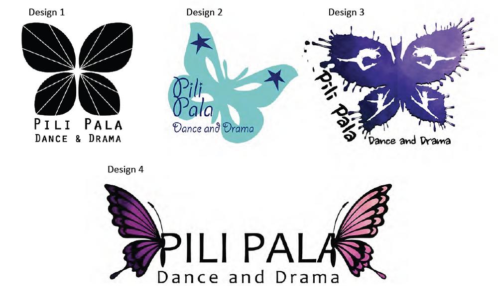 Pili Pala logo design
