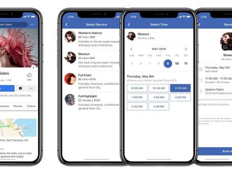 Are you booking through Facebook