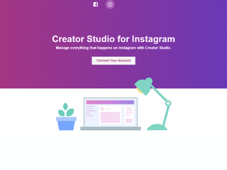 Instagram scheduling from Facebook