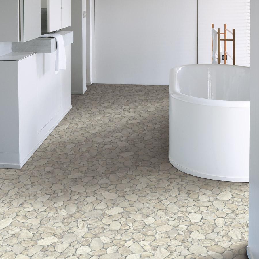Mosaic Vinyl Floor