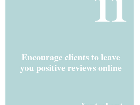 Encourage more reviews