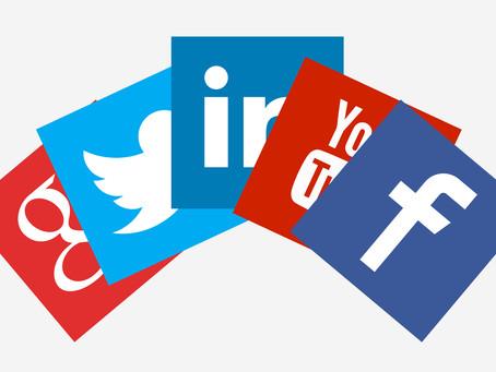 Busy morning talking Social Media