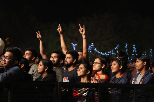 Fans screaming at IISER