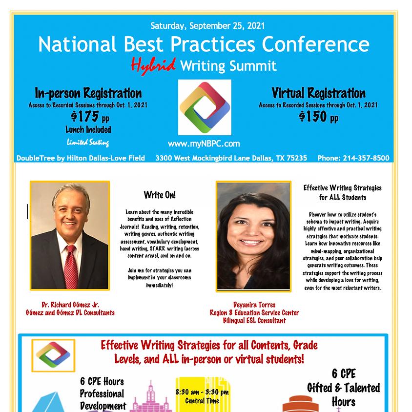 NBPC Writing Summit 2021