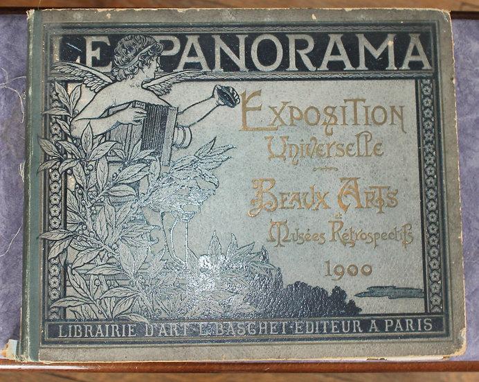 LE PANORAMA. EXPOSITION UNIVERSELLE DE 1900, BEAUX-ARTS-MUSÉES