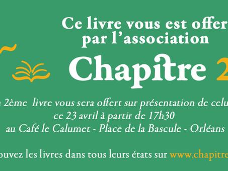 23 avril : 50 livres s'envolent à Orléans