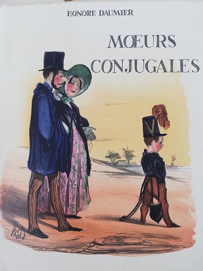 Daumier, Honoré, Les moeurs conjugales