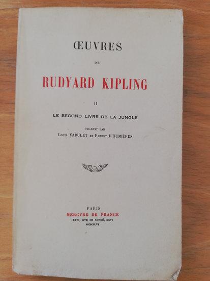 Kipling Rudyard, Le second livre de la jungle
