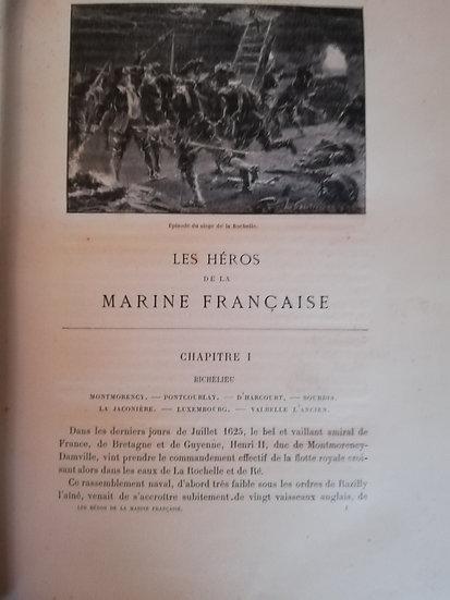 Contesse G, Les Héros de la Marine Française