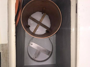The gas locker has undergone a face-lift