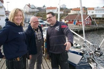 Anna, Carl and Rudolf are talking refit