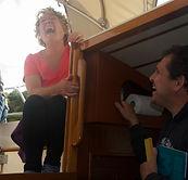 Doris on Saida HR31 having fun