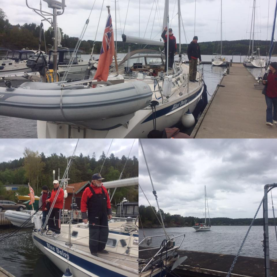 HR-46 Blue Daisy refitted by Adams Boat Care