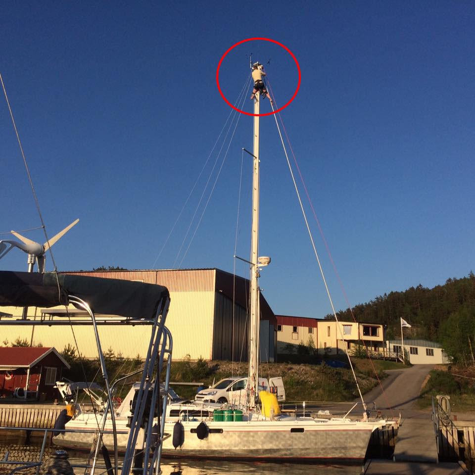 Fine tuning an Ovni aluminum boat
