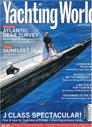Yachting World Magazine Sept 2013