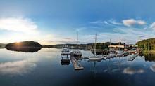 Adams Boat Care by night