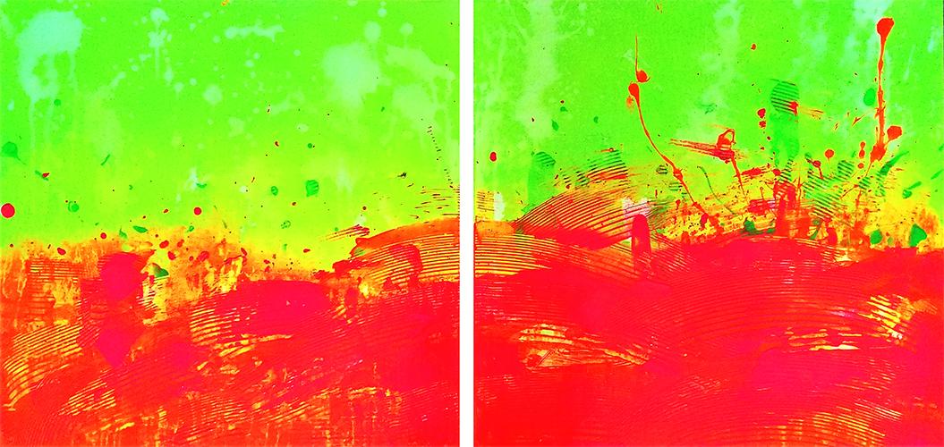neon landscape