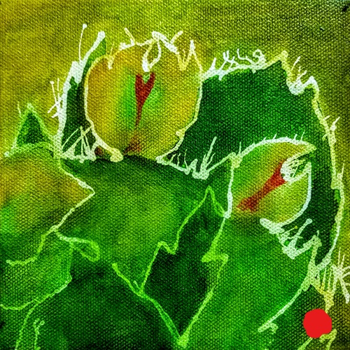 Christmas Cactus_SOLD