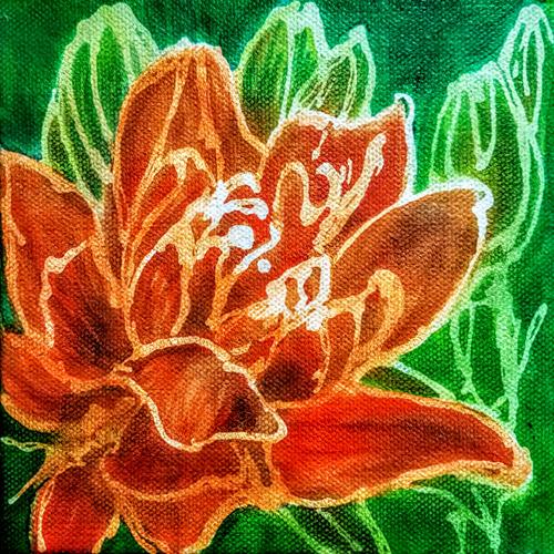 Small Orange Lily