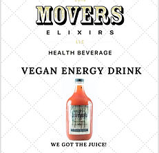 Holistic Movers Elixirs Health Beverage