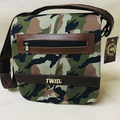 Cross Body Camo Bag by TWID