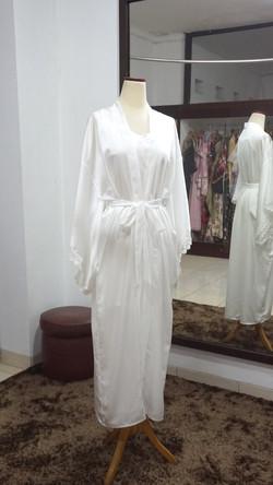 Silky Long Robe