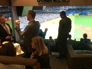 Pathways Great Clients and a Blue Jays Win!