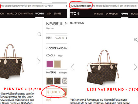 Like Luxury Items?  Buy them in Europe and save $$$!