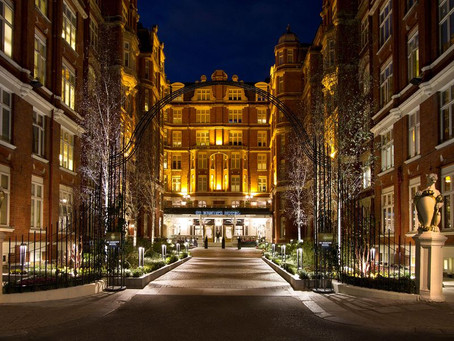 The London Conference (April 2021) Hotel Was Once a Secret Spy Base