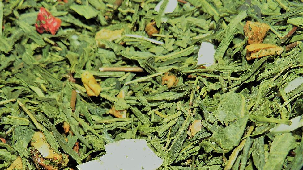 Mélange Hivernal, Thé Vert Cannelle Amande
