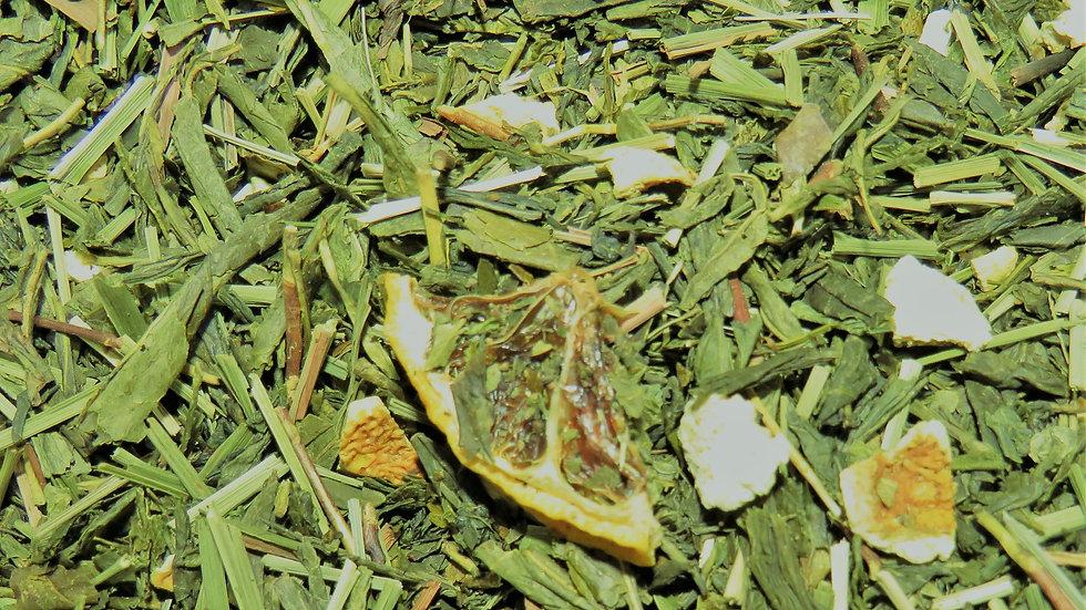 Citron Frais Bio, Thé Vert