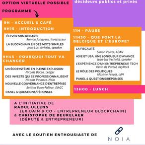 6 OCTOBRE - Conférence Blockchain - Save the date