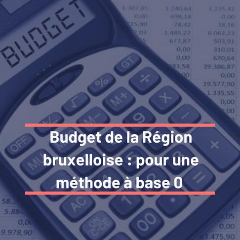 Budget : pour une méthode à base zéro !