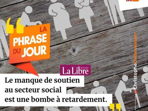"""""""Le manque de soutien au secteur social est une bombe à retardement"""" - LLB"""